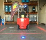 24V 80V Red-Zone LED Pedestrian Warning Light for Mobile Equipment