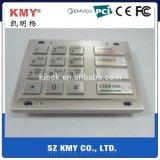 PCI 4.0 Ik07 IP65 New Wincor V5 ATM Machine Metal Pin Pad