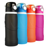 750ml 26oz Large Reusable Sport Collapsible Wide-Mouth Water Bottle