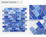 Iridescent Crystal Glass Swimming Pool Mosaic Tile