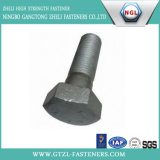 ASTM A325 Hex Head Bolt with Black Finish