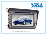 Two DIN Car DVD for Honda 2012 Civic (Left Driving)