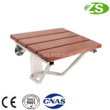 Folding up Wooden Bath Stool Shower Seat for Handicapped