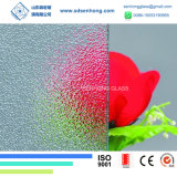 5mm Clear Frosted Obsured Patterned Glass for Glass Door
