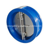 Double Disc Wafer Swing Check Valve Pn16