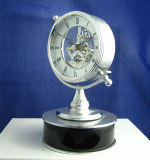 Rotatable Fashion Craft Wooden Table Clock K8048