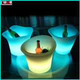 LED Illuminated Large Ice Bucket Bar Decoration Furnitures Design