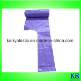HDPE Disposable Bags Rubbish Bags with Tie-Handle