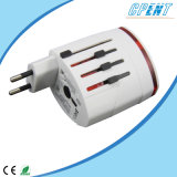 Universal Travel Adapter with Dual Portable USB Port