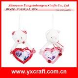 Valentine Decoration (ZY13L885-1-2) Valentine Haning Love Bear Decoration