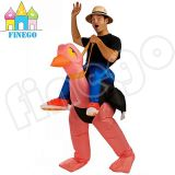 Halloween Inflatable Ostrich Adult Fancy Dress Costumes Bird Stag Hen Night out Outfit