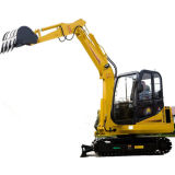 CE Approved 4.5 Tons Crawler Excavator with 0.17m3 Bucket (HH45-7B)