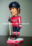 Polyresin Custom Sport Ice Hockey Talking Bobble Head (HG-026)