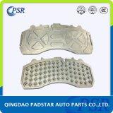 Wva29087 Auto Parts Truck Brake Pad Cast Iron Back Plate