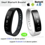 IP56 Watetproof 4.0 Bluetooth Smart Bracelet with OLED Display (H8)