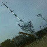 110kv Single Circuit Steel Tube Power Transmission Tower