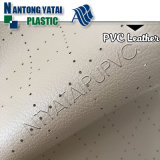 Automobile Decorate Durable PVC Leather Wirth Microfiber Backing