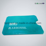 Customized Transparent Double Pocket Plastic PVC ID Card Holder