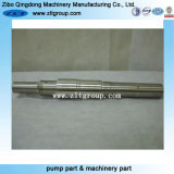 ANSI Stainless Steel Durco Pump Shaft with CNC Machining