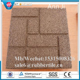 Non-Toxic Rubber Floor Tile, Children Playground Gym Floor