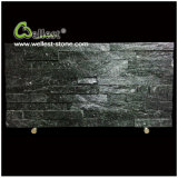 Black Quartzite Ledgestone Stacked Wall Stone Veneer Culture Stone