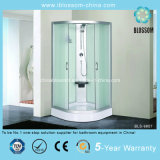 Corner 5mm Tempered Glass Steam Shower Cabin (BLS-9807)