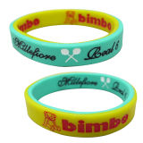 Custom Personalized Mosquito Repellent Silicone Rubber Bracelet
