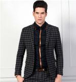 Men′s Small Check Wool Jacket