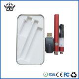 China Clear Glass Vaporizer Green Smoking 510 Vape Pen