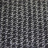 Wool Diamond Check Knitted Blend Fabric for Menswear