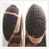 Virgin Brazilian Hair Fishnet Base Glueless Full Lace Wig