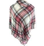 Best Selling Special Design Acrylic Knitted Plaid Scarf Reasonable Price