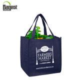 Promotional Customized Silkscreen Printing Non Woven Shopping Bag