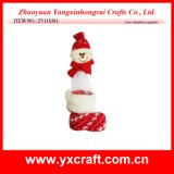 Christmas Decoration (ZY11S261) Christmas Boot Snowman Promotional Products