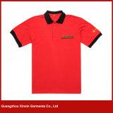 OEM Wholesale Factory Men Stylish Casual Blank Short Sleeve Slim Fit Tee (P107)