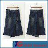 Fashion Wholesale Ladies Denim Long Skirt (JC2054)
