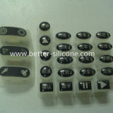 Laser Etched Silicone Rubber Button Keypad