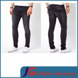 Black Men Supper Skinny Denim Jeans (JC3327)