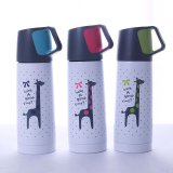 500ml Double Wall Stainless Steel Vacuum Thermos Flask with Lids (SH-VC19)