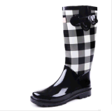 New Style Ladies Fashion Rubber Rain Boot for Woman (RT-0102)