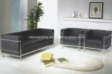 Stainless Steel Frame PU Office Sofa (9010)
