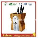 Big Wooden Sharpener Shape Pen Holder