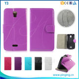 2016 Alibaba Express Leather Phone Case for Lenovo A7010, Flip Leather Case for Lenovo A7010