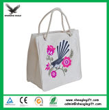 Promotional Custom Recycle Calico Cloth Cotton Tote Bag