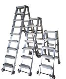 (375LBS) Aluminum Alloy Portable and 9-Step Ladder