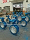 API/DIN/GOST Cast Steel Dn500 Py25 Eccentric Butterfly Valve