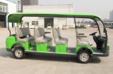 Popular 11 Passenger Electric Sightseeing Car Tourist Bus From Dongfeng Motor