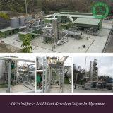 20kt/a Sulfuric Acid Plant Based on Sulfur in Myanmar