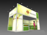 Aluminum System Exhibition Booth for advertising Display