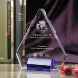 Triangle Crystal Glass Trophy Award